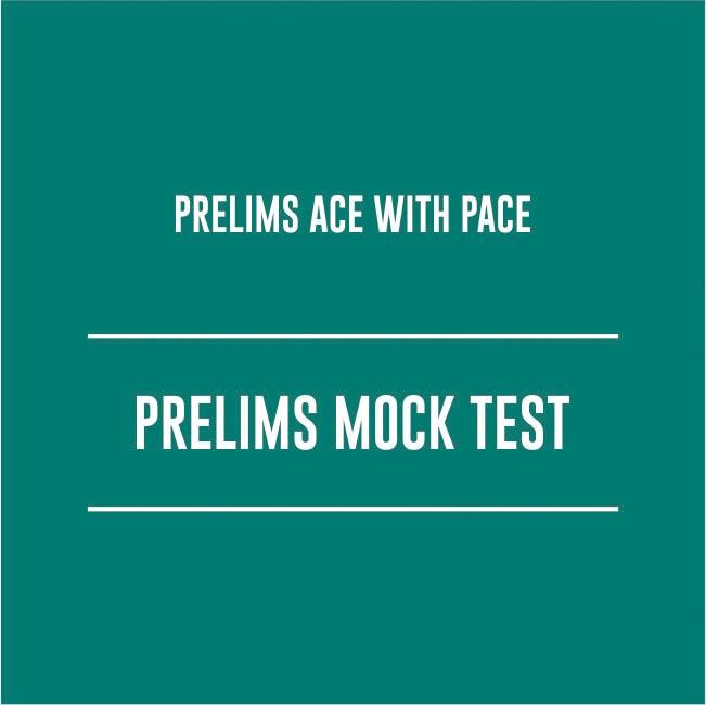 ACHOOK (Sure Fire) - PRELIMS MOCK TEST – CSE 2021 – 10 TESTS