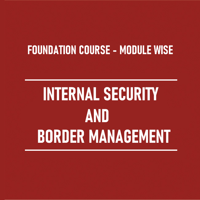 Internal Security and Border Management